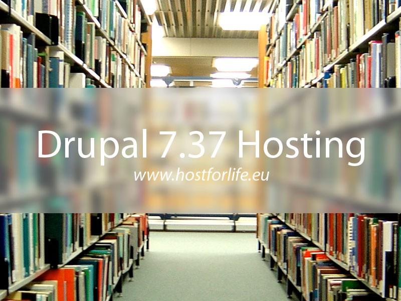 HostForLIFEASP.NET Proudly Launches Drupal 7.37 Hosting