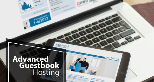 Best and Cheap Advanced Guestbook Hosting