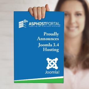 ASPHostPortal.com Announces Fast Joomla 3.4 Hosting Solution