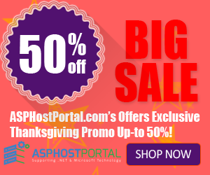 Best and Cheap ASP.NET Hosting – Exclusive Thanksgiving Special Deals