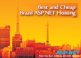 Best and Cheap Brazil ASP.NET Hosting With Latest ASP.NET and Powerful Support