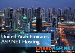 Best and Cheap United Arab Emirates ASP.NET Hosting With the Latest ASP.NET Technologies