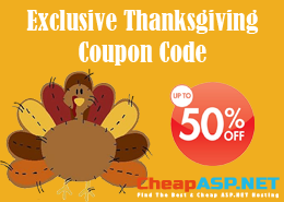 Best and Cheap ASP.NET Hosting Exclusive Coupon Code
