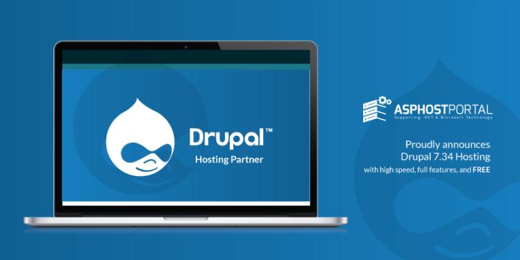 ASPHostPortal.com Announces Excellent Drupal 7.34 Hosting Solution