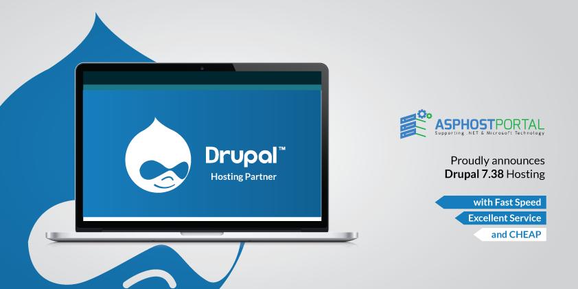 ASPHostPortal.com Announces Drupal 7.38 Hosting Solution