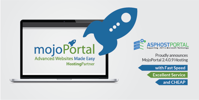 ASPHostPortal.com Announces Fast and Cheap MojoPortal 2.4.0.9 Hosting Solution