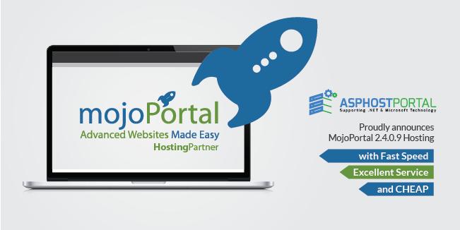 ASPHostPortal.com Announces Fast and Cheap MojoPortal 2.4.0.9 Hosting Solution