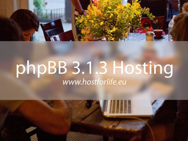 HostForLIFEASP.NET Launches Cheap phpBB 3.1.3 Hosting
