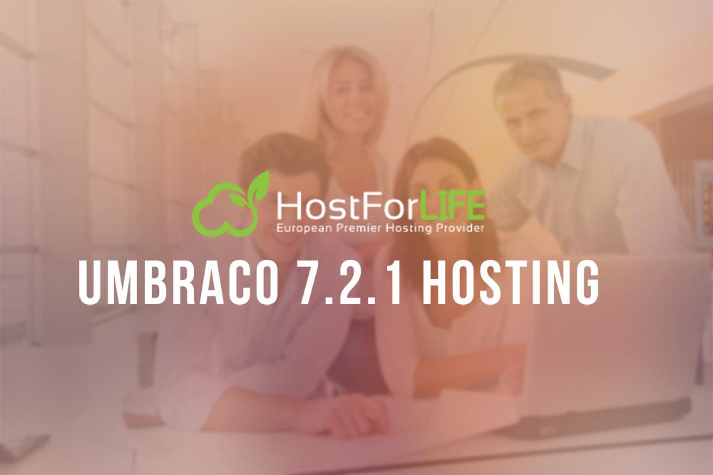 HostForLIFEASP.NET Launches Cheap Umbraco 7.2.1 Hosting